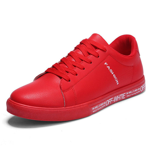 SERENE Fashion Mens Casual High Top Shoes Spring Lace-Up