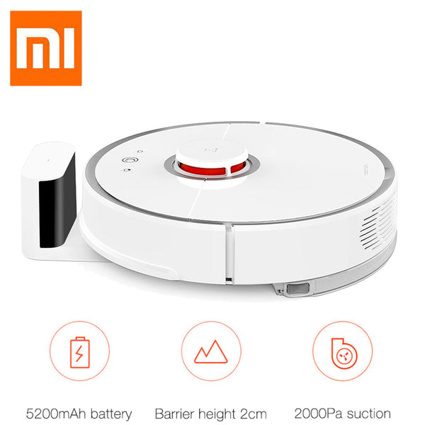 Robotic Vacuum Cleaner - Xiaomi Mijia Roborock 2nd Gen - Automatic Area Cleaning