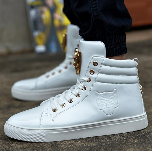 Fashion High Top Casual Shoes For Men