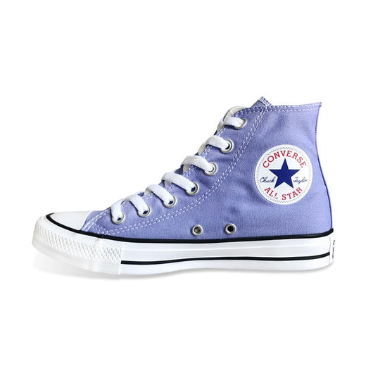 CONVERSE Chuck Taylor All Star shoes 160455C violet color Original men's and women's high sneakers Skateboarding Shoes