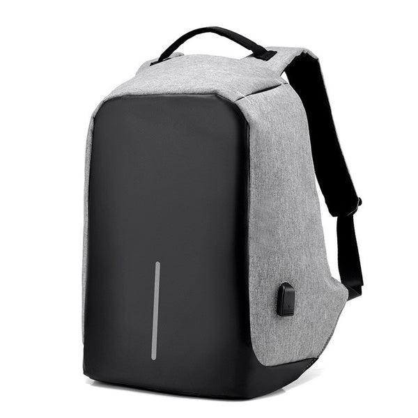 Buy Anti-theft Backpack With USB Charge Port and Larger Volume Capacity
