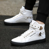 2018 Spring high top star gz shoes men luxury brand sneakers white designer version golden casual shoes hip hop men krasovki