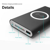 Best Wireless Charger and Powerbank - 2-in-1 - 10000 mAh