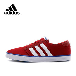 Adidas Air Force Men Sneakers Blue and Red Breathable Synthetic Trainers Classic Lace-up Low Adidas Sports Shoes for Men