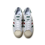 Genuine Unisex Adidas Sneakers Originals Red Green Stripe Sports Skateboarding Shoes PU Low-tops Adidas Men Women Sneakers