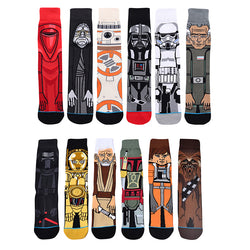 Star Wars Darth Vader Men Straight Casual Fashion Happy Socks