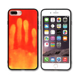 Thermal Sensor Phone Case For iPhone X 8 7 6 6S Plus 5 5S