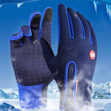 Winter Touch Screen Windproof Waterproof Outdoor Sport Driving Gloves - 4 Colours