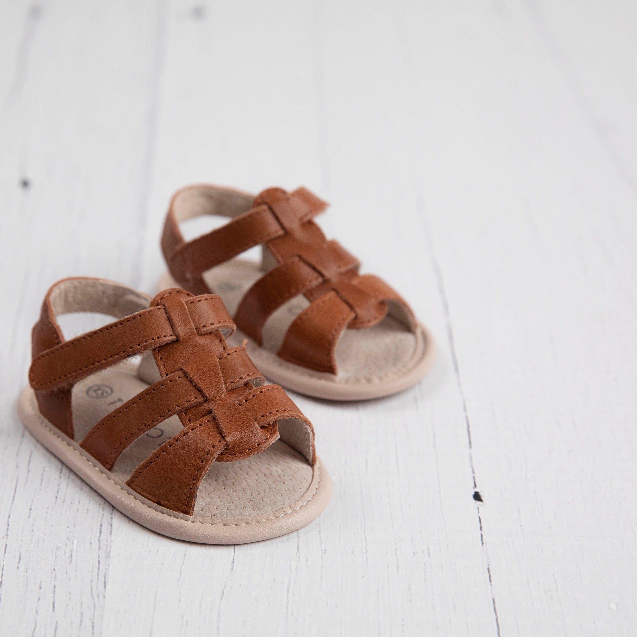 Amalfi Sandal in Honey Tan