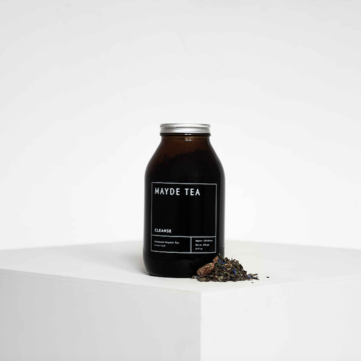 Cleanse Tea 120 Serve Retail Amber Jar