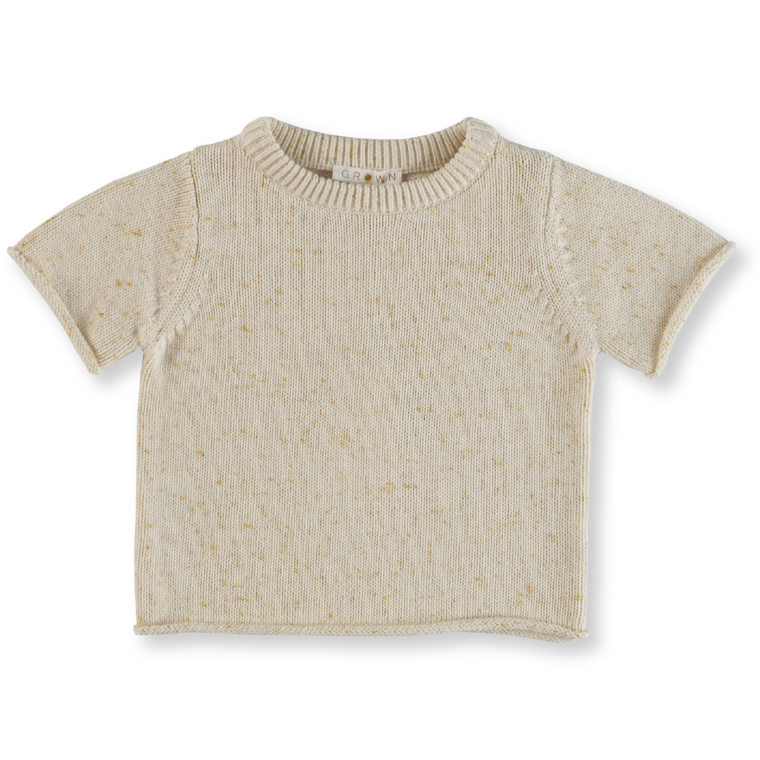 Speckle Tee - Golden Speckle