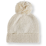 Load image into Gallery viewer, Slub Pom Pom Beanie - Milk