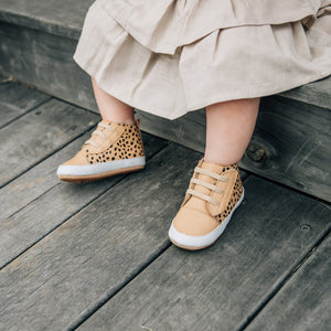 Brooklyn Baby Shoe in Camel Spot