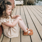 Load image into Gallery viewer, Monterosso Kids Sandal in Honey Tan