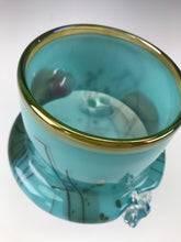 Load image into Gallery viewer, Inclusion Vase - Turquoise