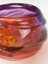 Load image into Gallery viewer, Micro Oasis Bowl - Hyacinth and Orange