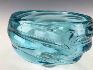 Teal Infinity Bowl