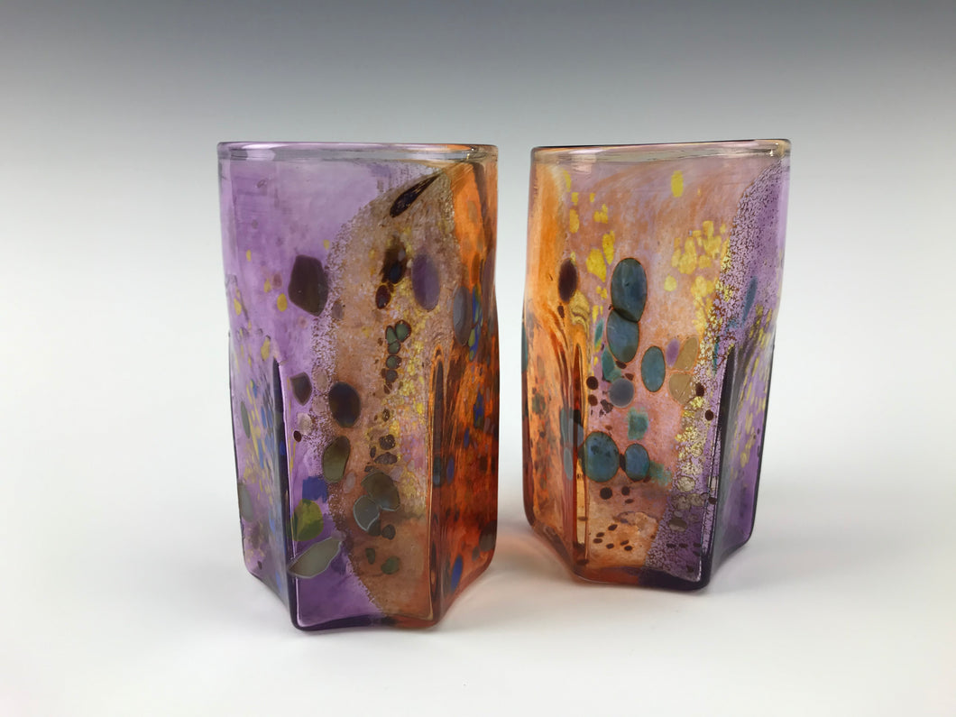 Nyminal Cup Set - Purple/Orange