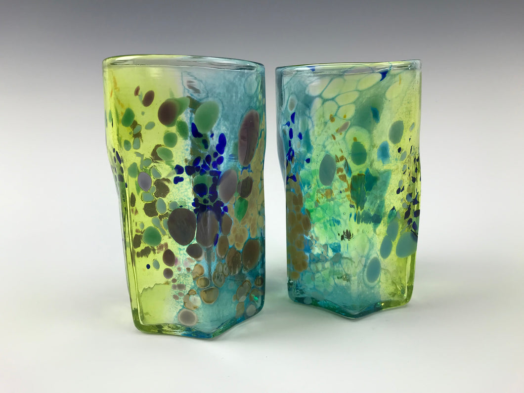 Nyminal Cup Set - Blue Slime Green
