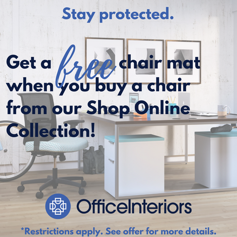 Free Chair Mat with Chair Purchase from our Shop Online Collection
