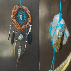 Quartz Dreamcatcher, Healing Dreamcatcher