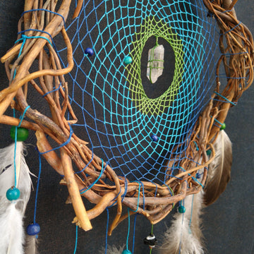 Handmade Dream Catcher Indian Style, large dream catcher