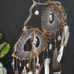 Healing crystals & stones Dreamcatcher white, Neutral Large Healty dreamcatcher crystal