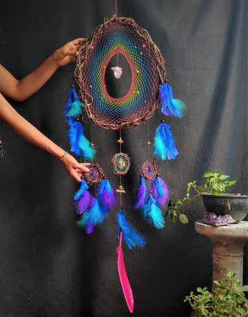 Dream Catcher Mystic Art, Big Dreamcatchers 7 colors