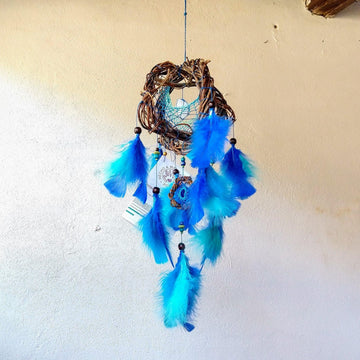 6 Inches 3D Dream Catcher, Small Custom Quartz Ceiling Mobile