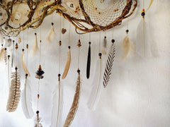 Big Dream Catcher, mystical and breathtaking art, gift Native American culture dream catchers