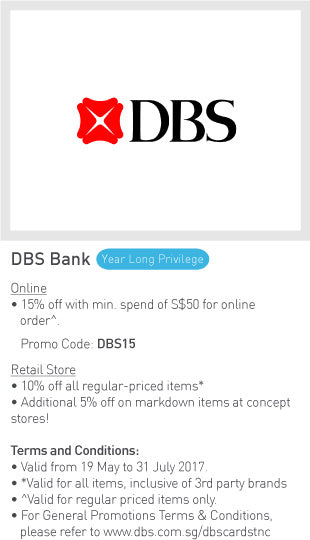 DBS Year Long Promotion