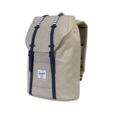 Herschel Supply Retreat Backpack - Light Khaki Crosshatch