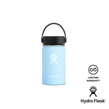 Hydro Flask 12 oz Wide Mouth w/ Flex Cap - Frost