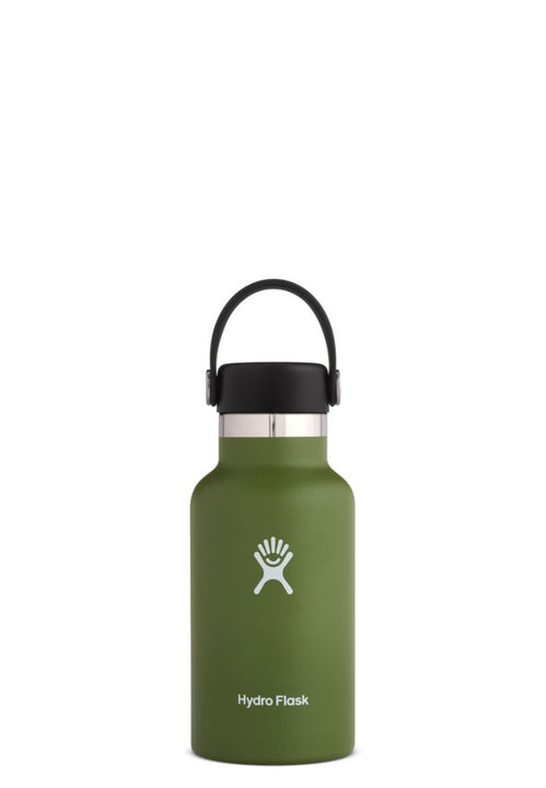 Hydro Flask Standard Mouth Flex Cap Olive 12Oz