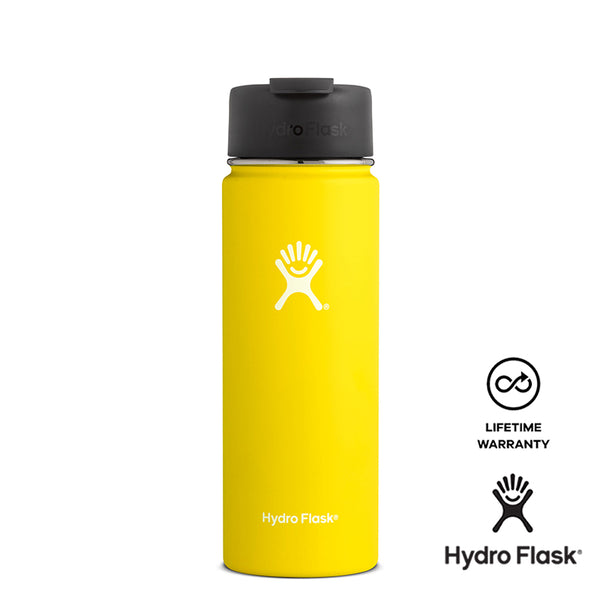 Hydro Flask 20OZ Wide Mouth w/ Flip Lid - Lemon