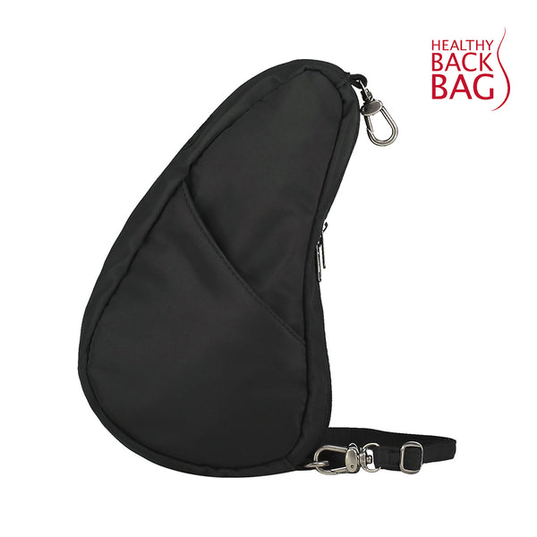 Healthy Back Bag Textured Nylon Large Baglett - Black