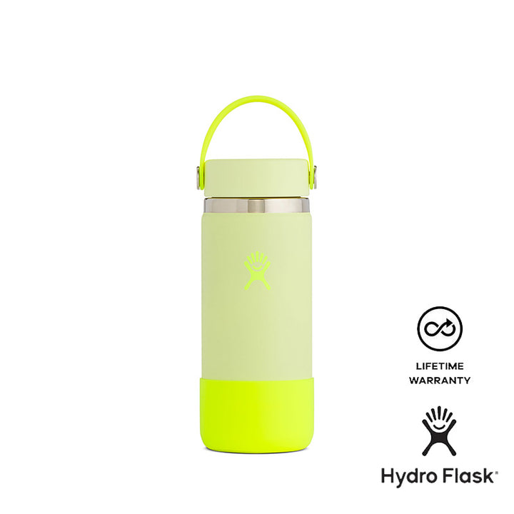 Hydro Flask 16 OZ Wide Mouth and Boot (Neon - Pop Yellow) Hydroflask