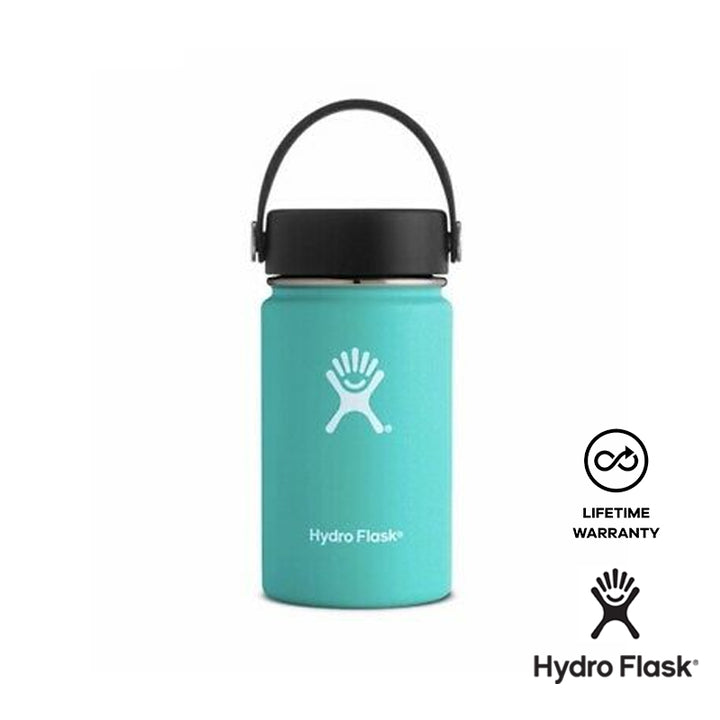 Hydro Flask - 12oz Stainless Steel Sports Water Bottle Wide Mouth - Mint