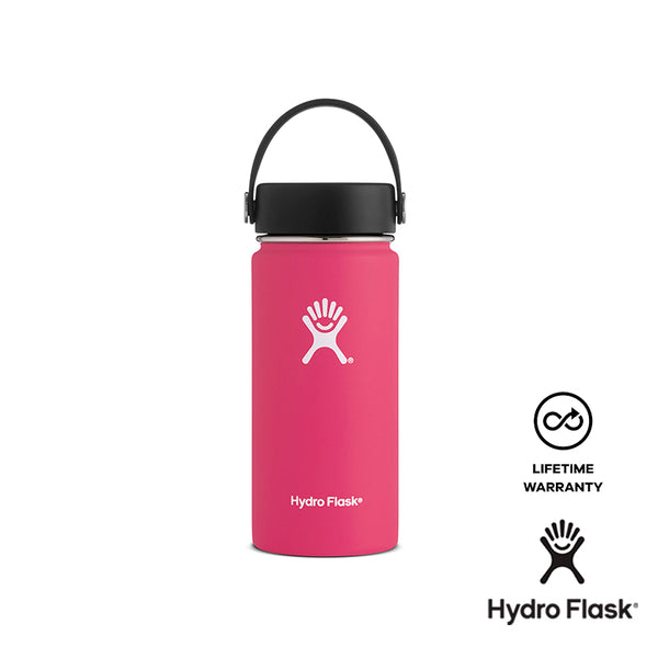 Hydro Flask 16 oz Wide Mouth w/ Flex Cap - Watermelon