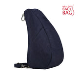 Healthy Back Bag Textured Nylon Large Baglett - Blue Night