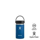 Hydro Flask 12oz Wide Mouth w/ Flex Cap 2.0 - Cobalt