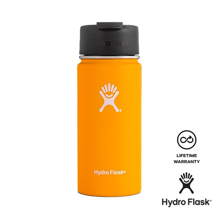 Hydro Flask 16 oz Wide Mouth w/ Flip Lid - Mango