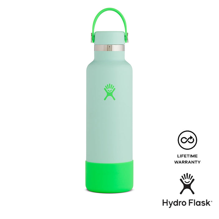 Hydro Flask 21 OZ Standard Mouth and Boot (Neon - Pop Green) Hydro Flask