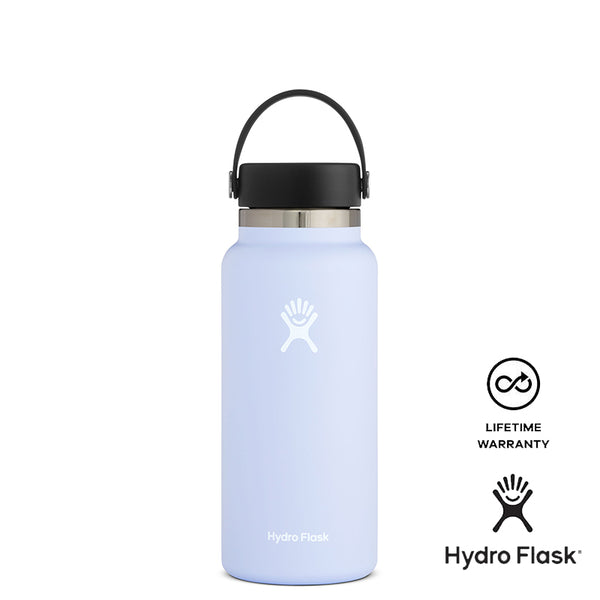 Hydro Flask 32oz Wide Mouth w/ Flex Cap 2.0 - Fog