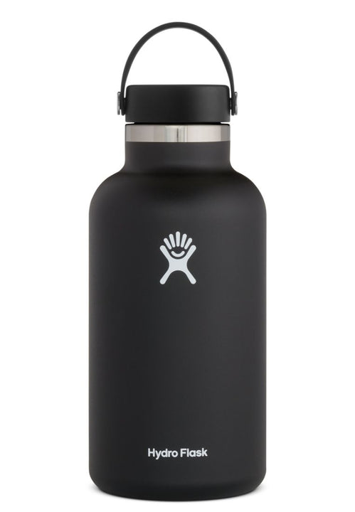 Hydro Flask Wide Mouth Flex Cap Black 64Oz
