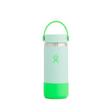 Hydro Flask 16 OZ Wide Mouth and Boot (Neon - Pop Green) Hydroflask