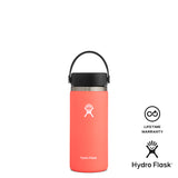 Hydro Flask 16oz Wide Mouth w/ Flex Cap 2.0 - Hibiscus