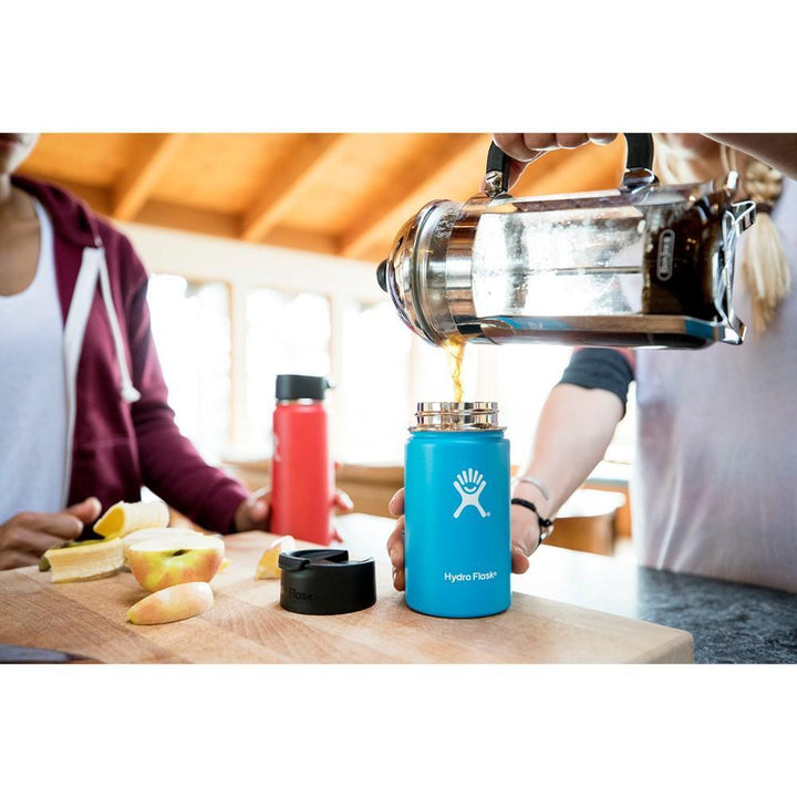 Hydro Flask 16 oz Wide Mouth w/ Flip Lid - Frost