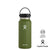 Hydro Flask 32oz Wide Mouth w/ Flex Cap 2.0 - Olive
