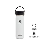 Hydro Flask 20oz Wide Mouth w/ Flex Sip Lid - White